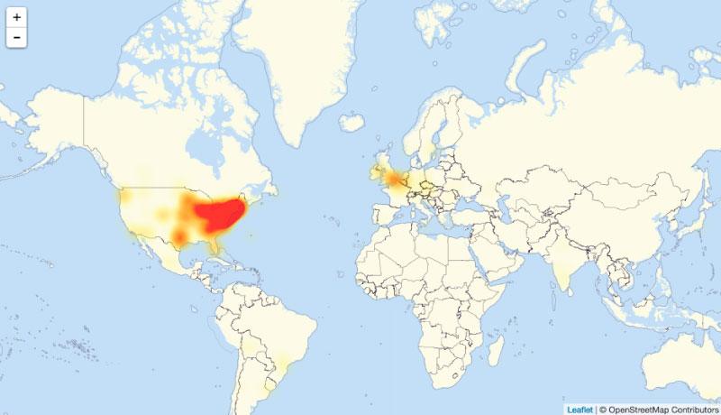 Twitter, Reddit , Spotify y otros sufrieron da?o colateral en un ataque a internet a gran escala.